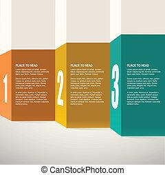 design., vecteur, presentation., gabarit, infographics