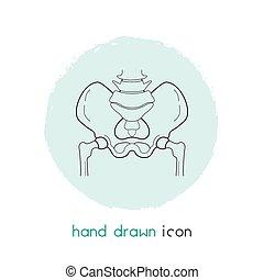design., vektor, bäcken, nät, illustration, fodra, ikon, ...