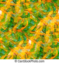 design watercolor seamless background yellow, green texture abstract paint pattern art color water brush
