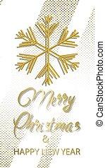 design, weihnachtsurlaub, jahr, fröhlich, neu