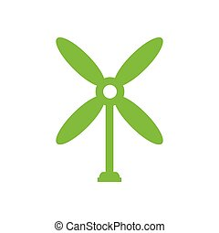 design wind turbine icon