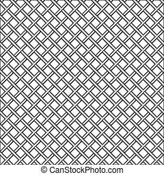 design with metallic realistic mesh, abstract seamless pattern; art illustration