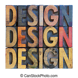 design word abstract typography