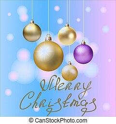design1, 新しい, クリスマスカード, 年