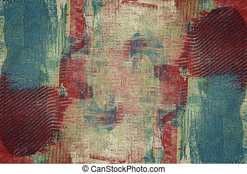 Designed abstract art background - Designed abstract arts...