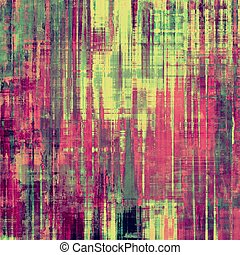 Designed grunge texture or background. With different color patterns: yellow (beige); purple (violet); pink; green