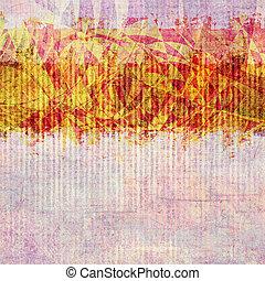 Designed grunge texture or background