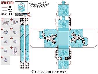 designer box for kids the hare runs