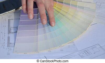 designer choose color