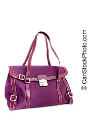 Designer fuschia purse - Fushia colored designer handbag on ...