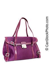 Designer fuschia purse - Fushia colored designer handbag on...