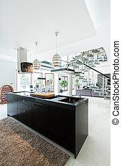 Designer interior in modern style