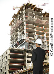 Designer Looking At Building
