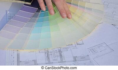designer pick color