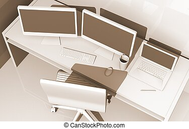 Designer Workstation Concept