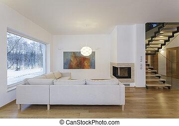 Designers interior - artistic living room
