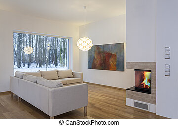 Designers interior - cosy living room - Designers interior...
