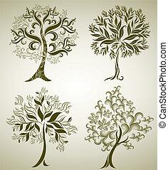 Designs with decorative tree