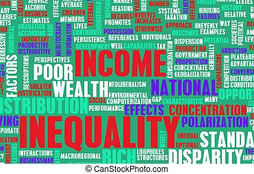 desigualdade, renda