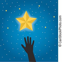 desire to get a star