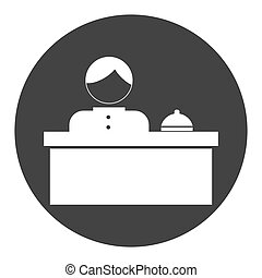 hotel related icon image