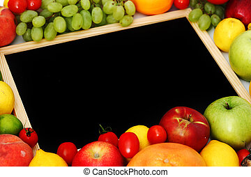 desk in fruit