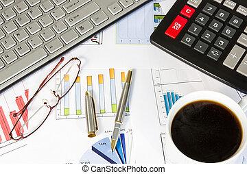 Desk of a businessman