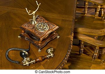 deska, dávný- podoba telefonovat