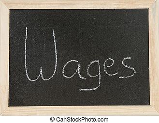 deska, wages.