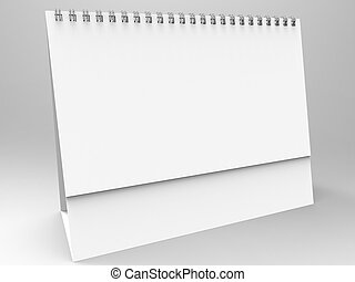 Desktop Calendar 3D Render is a professional Desktop ...