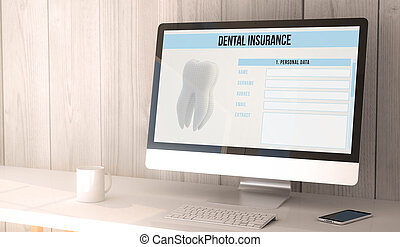 desktop computer dental insurance
