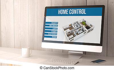 desktop computer home automation