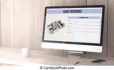 desktop computer home insurance