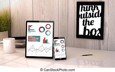 desktop tablet and phone financials