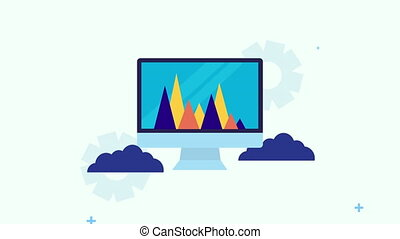 desktop with search engine optimization