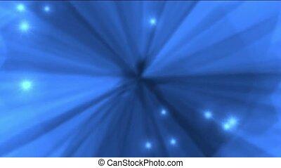 deslumbrante, luz, e, estrelas