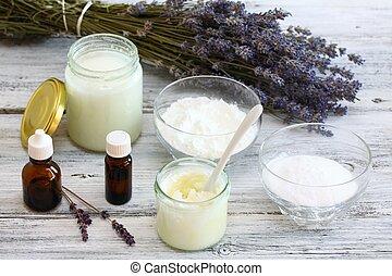 desodorante,  natural,  Antibacterial, casero