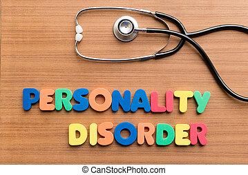 desordem, personalidade