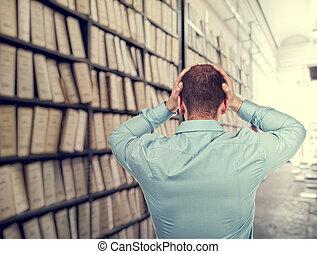 desordenado, archivo