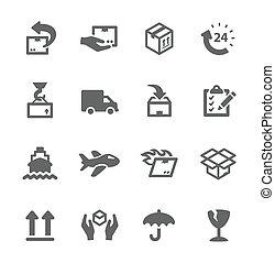 despacho, ícones