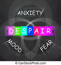 Despair Displays a Mood of Fear and Anxiety - Despair...