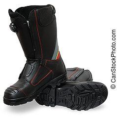 despeça segurança, sapatos