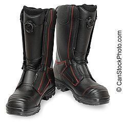 despeça segurança, sapatos, especiais