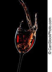 despeje, vinho