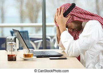 Desperate arab saudi man online bankruptcy