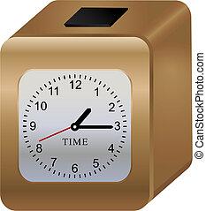 despertador - alarm clock created with gradients