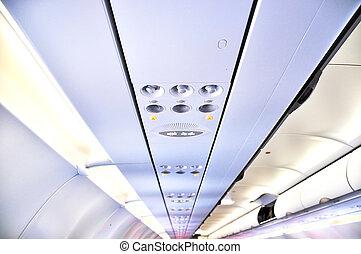despesas gerais, aeronave, console