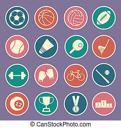 desporto, ícone