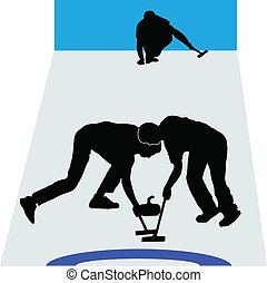 desporto, curling