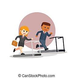 desporto, ilustração negócio, vetorial